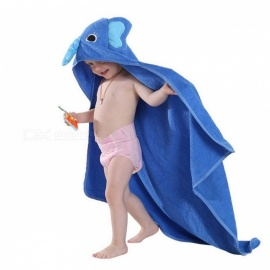 MICHLEY-Kids-Toddler-Cotton-Towel-Bathrobe-Baby-Boys-Girls-Cartton-Style-Hooded-Bath-Towel-Children-Towel-Pink-Monster