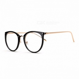 Stylish-Vintage-High-Quality-Transparent-Clear-Glasses-Eyeglasses-with-Carrying-Pouch-for-Women-Girls