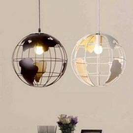 Creative-Globe-Earth-Iron-Pendant-Lamp-Light-Shade-Decoration-Light-220V-E27-for-Kitchen-Dining-Room-Restaurant-Diameter-28cm