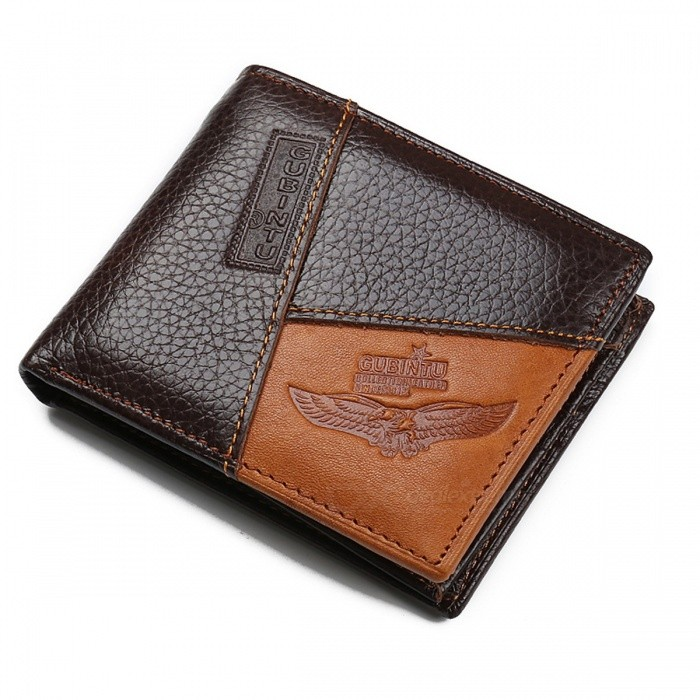 ZC8042-Famous-Luxury-Brand-Genuine-Leather-Short-Style-Folding-Zipper-Mens-Wallet-Coin-Pocket-Purse