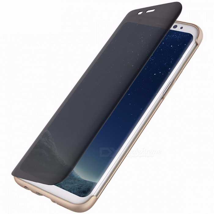 Protective Stylish Flip Case Full Screen Window Case Cover Protection Guard for Samsung Galaxy S8 S8 Plus for Galaxy S8 Plus/GoldTPU Cases<br>Description<br><br><br><br><br>Retail Package: Yes<br><br><br>Compatible Samsung Model: Galaxy S8 Plus,Galaxy S8<br><br><br><br><br>Function: Anti-knock,Heavy Duty Protection<br><br><br>Design: Business,Transparent<br><br><br><br><br>Brand Name: Rock<br><br><br>Type: Flip Case<br><br><br><br><br>Compatible Brand: Samsung<br>
