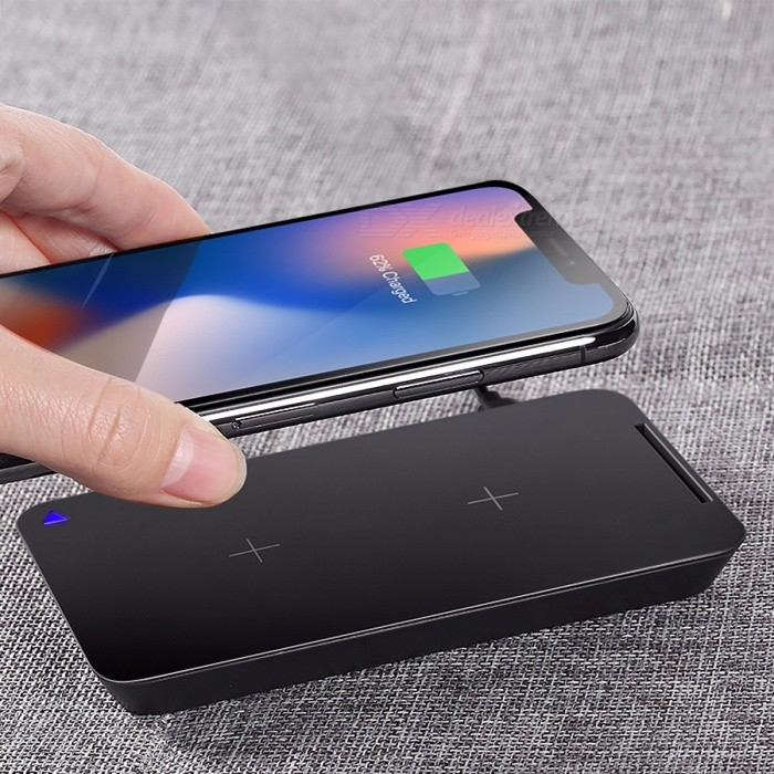 ROCK 10W Dual Coil Qi Wireless Charger, Fast Charging Pad Docking Dock Station for IPHONE X 8 Samsung Note 8 S8 Plus S7 S6 Edge BlackWireless Chargers<br>Description<br><br><br><br><br>Brand Name: Rock<br><br><br>USB Ports: 1<br><br><br><br><br>Output Interface: USB<br><br><br>Output: 5V/2A<br><br><br><br><br>Quality Certification: FCC,CE,RoHS<br><br><br>Compatible Brand: SONY,LG,Meizu,Blackberry,Nokia,HTC,Lenovo,Samsung,Motorola,ZTE,Universal,xiaomi,Huawei,Apple,Other<br><br><br><br><br>Support Quick Charge Technology: No<br><br><br>Power Source: USB<br><br><br><br><br>Type: Wireless Charger<br><br><br><br><br><br><br><br><br><br>feature: 10W output Wireless Charger Fast Charging <br><br><br>feature 1: for iPhone X 8 8 Samsung Galaxy S7 S8 note 8 <br><br><br>feature 2: 10W Portable Wireless Charger Charging Pad <br><br><br>feature 3: Fast Charging Phone For Samsung Galaxy S7 <br><br><br>feature 4: Smart IC Fast Wireless Charger <br><br><br>feature 5: For Samsung Galaxy S8 S7 S6 Edge All <br><br><br>fit for: Desktop Mobile Phone 9V Fast For Samsung <br><br><br>input: DC 5V/2A, DC 9V/1.67A<br>