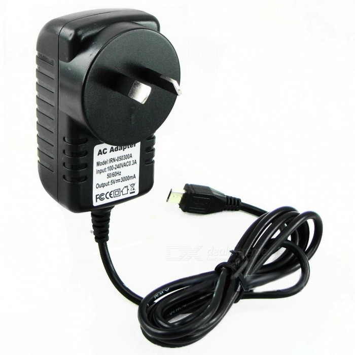 Portable Lightweight 5V 3A Raspberry PI 3 Power Adapter, Power Supply Charger, DC/AC Adaptor PSU Power Source USA plugRaspberry Pi<br>Description<br><br><br><br><br>Brand Name: bpi<br><br><br>Accessory Type: Power Adapter<br><br><br><br><br><br><br><br><br><br><br>USE:&amp;nbsp;<br>--&amp;nbsp;The product is used to supply&amp;nbsp;power from AC to DC&amp;nbsp;for&amp;nbsp;Raspberry PI 3 or PI&amp;nbsp;2.<br>FEATURES: <br><br>-- Input: 100-240VAC 0.3A 50/60HZ;<br>--&amp;nbsp;Output: 5V3A;<br>-- Micro USB Interface;<br>COLOR:<br><br><br>-- Black;<br>SIZE:<br><br><br>-- AC Adapter size: 75mm*40mm*63mm;<br>-- Cable&amp;nbsp;size: 120CM in length; 3.5mm in diameter;<br>WEIGHT:<br><br><br>-- Net weight: 91g;<br><br><br>IN THE PACKAGE:<br>-- AC Adapter * 1pcs;<br>PACKAGE:<br><br>--&amp;nbsp;PVC&amp;nbsp;bag;<br>