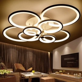 Ring-Shape-White-Finished-Chandeliers-LED-Circle-Modern-Ceiling-Hanging-Lamp-Light-for-Living-Room-Indoor-Lighting-4-Rings-36W