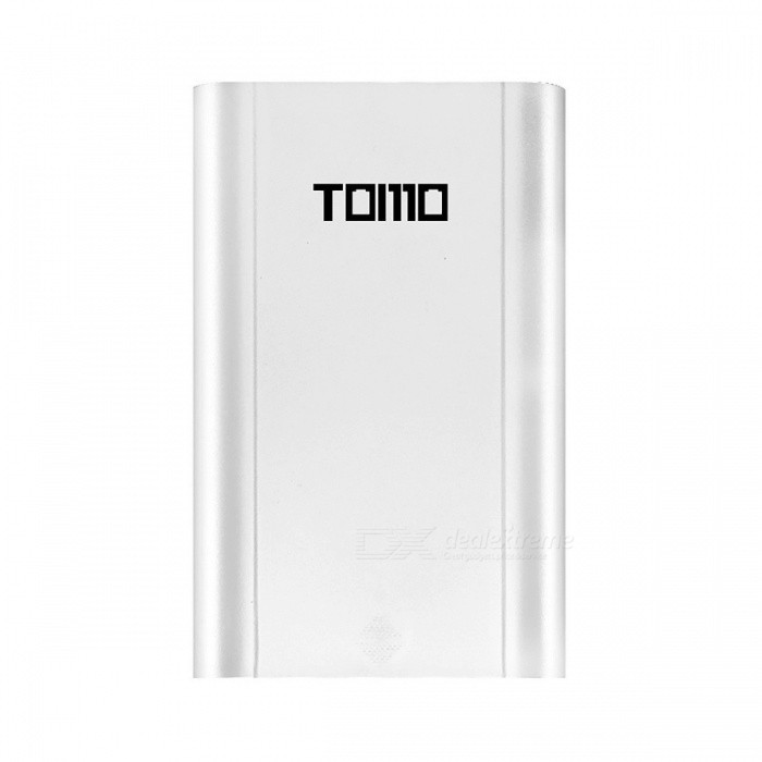 TOMO M4 Portable 4 x 18650 Li-ion Battery DIY Powerbank Box Charger, 5V 2A Smart Charger Power Bank Case w/ LCD Display USB/WhiteDIY Parts &amp; Components<br>Description<br><br><br><br><br>Use: Standard Battery<br><br><br>Type: USB,Electric<br><br><br><br><br>Package: Yes<br><br><br>Output Interface: USB Output<br><br><br><br><br>Brand Name: tomo<br><br><br>Intelligent Charge: Yes<br><br><br><br><br>Display screen: Yes<br><br><br>Quick charge: Yes<br><br><br><br><br><br><br><br><br><br><br><br><br><br>Main Features:<br><br>-&amp;nbsp; DIY Power Bank and Charger<br> Custom capacity by 4 x 18650 li-ion battery to make your own power <br>bank, portable external supply, provides your devices enough power. Also<br> a battery charger for 18650 battery, a dual-use item<br><br> -&amp;nbsp; Dual Outputs<br> Dual outputs, can charge phones, pads or other small electronic devices simultaneously<br><br> -&amp;nbsp; Independent Circuit<br> Independent battery, charging and discharging at the same time, can work together and not influence each other<br><br> -&amp;nbsp; LCD Display Screen&amp;nbsp;<br> Each battery independently clearly displays subtitle, easy to read the remaining capacity<br><br> -&amp;nbsp; Reverse Polarity Protection<br> When it comes to the reverse polarity, the chip inside will <br>automatically identify and cut off the power of the reversed polarity <br>circuit, displays an empty battery level<br><br><br> Reversed polarity will not affect the normal operation of other circuits<br><br><br><br><br><br><br>Parameters:<br> Battery: 4 x 18650 li-ion battery ( not included )<br> Input: 5V / 1.2A<br> Output: 5V / 1A, 2A <br><br><br>&amp;nbsp;<br><br><br><br>Package weight:&amp;nbsp;0.185 kg&amp;nbsp;<br>Product Size(L x W x H):&amp;nbsp;13.00 x 8.40 x 2.60 cm / 5.12 x 3.31 x 1.02 inches&amp;nbsp;<br>Package Size(L x W x H):&amp;nbsp;21.20 x 11.00 x 2.80 cm / 8.35 x 4.33 x 1.1 inches <br><br><br>Package Contents:&amp;nbsp;1 x Power Bank, 1 x USB Charging Cable<br>