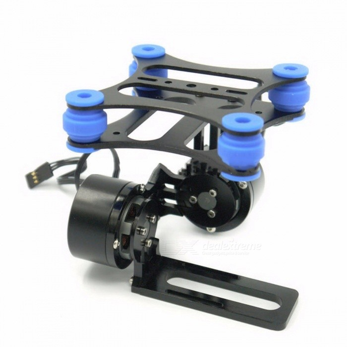 Portable Lightweight Shock Absorbing CNC Metal Brushless Camera Gimbal Frame for Gopro 2 3 Xiaomi Xiaoyi Camera BlackOther Accessories for R/C Toys<br>Description<br><br><br><br><br>Use: Vehicles &amp;amp; Remote Control Toys<br><br><br>Remote Control Peripherals/Devices: Receivers<br><br><br><br><br>Material: Composite Material<br><br><br>Brand Name: Readytosky<br><br><br><br><br>Four-wheel Drive Attributes: Battery<br><br><br>Upgrade Parts/Accessories: Frame<br><br><br><br><br>Technical parameters: Value 5<br><br><br>For Vehicle Type: Airplanes<br><br><br><br><br>RC Parts &amp;amp; Accs: Motor Components<br><br><br><br><br><br><br><br><br><br><br><br><br>Features: <br><br><br>- Simple structure and light weight,CNC aluminum alloy structure <br><br><br>- Brushless motor direct drive <br><br><br>- With anti-vibration rubber balls,easy to adjust <br><br><br>- Compatible with Gopro 3,2,1 <br><br><br>- need 2pcs 2208 motors and brushless gimbal controller for work(not including) <br><br><br>- with motor protector which can help heat dissipation <br><br><br>&amp;nbsp;<br><br><br>Package included: <br><br><br>&amp;nbsp;<br><br><br>1 x aluminum gimbal frame kit <br><br><br>&amp;nbsp;<br><br><br>4 x Black&amp;nbsp;Balls <br><br><br>&amp;nbsp;<br><br><br>The motors are not included <br><br><br>Need 2 motors &amp;amp; 1 brushless gimbal controller(w/IMU) more for working <br><br><br>it needs to be assembled(come without any manual)<br>