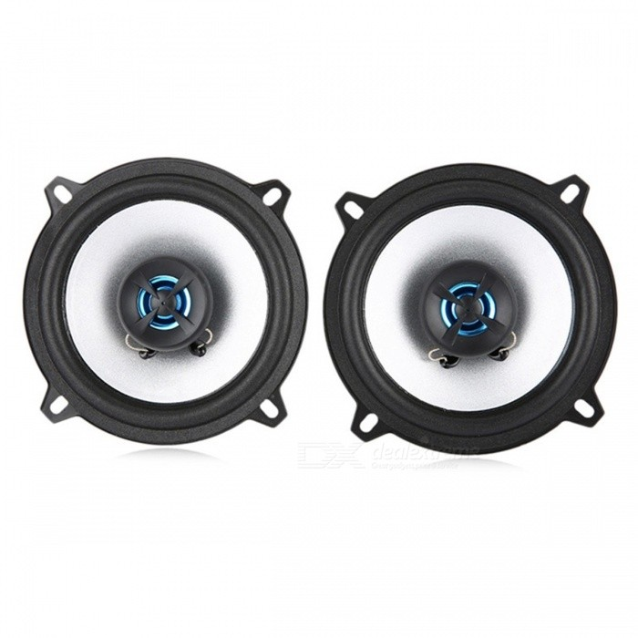 LABO LB-PS1502T 5 Automobile Coaxial Speaker Low Pitch Music Sensitivity Car Speaker Auto Loudspeaker - Pair BlackAudio Accessories<br>Description<br><br><br><br><br>Item Type: Speakers<br><br><br>Brand Name: LaBo<br><br><br><br><br>Speakers Types: Coaxial speakers<br><br><br>Voltage: 12V<br><br><br><br><br>Color Name: Black<br><br><br><br><br><br><br><br><br><br><br><br><br>Features:  <br><br><br>- Designed for using in any vehicle audio system<br>- Loud sound and clear tone quality, high sensitivity, give you a good hearing enjoyment<br>- Long service life, easy to install and maintain<br>- Good workmanship, light weight, portable to carry<br><br>Specifications:<br>- Impedance: 4 ohms<br>- Frequency respond: 80 - 20KHz<br>- Sensitivity: 89dB<br>- RMS: 40W<br>- Output power: 80W<br>- Drum paper: paper carcass<br>- Diaphragm: sponge<br>- Treble: 13mm KSV<br><br><br> - Woofer voice coil: 20mm ASV<br><br><br>Package Contents: 2 x Car Coaxial Speaker, 2 x Cable, 8 x Screw<br>