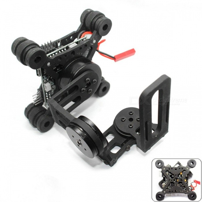 Buy HAKRC Portable Premium Storm32 3-Axis Brushless Gimbal, Lightweight Gopro3 Gopro4 FPV Fittings Accessory Black with Litecoins with Free Shipping on Gipsybee.com
