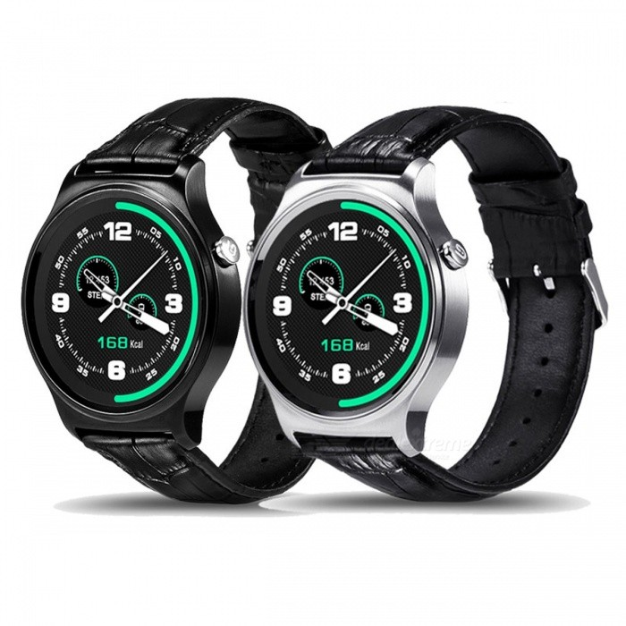 Torntisc GW01 Bluetooth Smart Watch IPS Round Screen Water Resistant Sports SmartWatch For Apple Huawei Android IOS Phones Black MetalSmart Watches<br>Description<br><br><br><br><br>Function: Answer Call,Remote Control,Dial Call,Push Message,Passometer,Message Reminder,Sleep Tracker,Heart Rate Tracker,Call Reminder,Fitness Tracker<br><br><br>APP Download Available: Yes<br><br><br><br><br>Band Detachable: No<br><br><br>ROM: 128mb<br><br><br><br><br>Language: French,Italian,Russian,Spanish,Portuguese,English<br><br><br>Battery Capacity: 300-450mAh<br><br><br><br><br>Band Material: Leather<br><br><br>Battery Detachable: No<br><br><br><br><br>Style: Fashion<br><br><br>Case Material: Steel<br><br><br><br><br>Network Mode: None<br><br><br>CPU Manufacturer: Mediatek<br><br><br><br><br>Camera: None<br><br><br>Brand Name: Torntisc<br><br><br><br><br>Movement Type: Electronic<br><br><br>Screen Shape: Round<br><br><br><br><br>Multiple Dials: Yes<br><br><br>Application Age Group: Adult<br><br><br><br><br>GPS: No<br><br><br>Waterproof Grade: Life Waterproof<br><br><br><br><br>SIM Card Available: No<br><br><br>RAM: &amp;lt;128MB<br><br><br><br><br>System: Android OS<br><br><br>Compatibility: All Compatible<br><br><br><br><br>Mechanism: No<br><br><br>Type: On Wrist<br><br><br><br><br><br><br><br><br><br><br>Main Features: <br><br><br>Bluetooth 4.0: Controlling music player, including MP3, MP4 and AVI format; Phone SMS synchronize and push information <br><br><br>Bidirectional anti-lost, convenient to find watch or phone <br><br><br>Real time heart rate monitoring, with ECG, getting high accuracy data <br><br><br>Siri, messages, remote camera, sleeping monitoring, alarm clock, calender, phone call remind, sedentary remind, etc. <br><br><br>UV and body temperature monitoring function, providing practical information <br><br><br>Supporting Android 4.3 / iOS 7.0 and above system <br><br><br>Language:&amp;nbsp;English, Spainish, Portuguese, Italian, French, Russian, Arabic, Chinese<br>