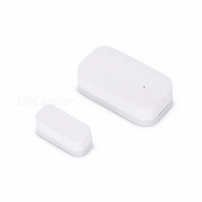 Xiaomi AQara Smart Window Door Sensor Multi-purpose ZigBee Wireless Connection Works With Xiaomi Smart Home Mijia, Mi Home app WhiteHome Smart Devices<br>Description<br><br><br><br><br>Features: Remote Control,Magnetic,Flashing<br><br><br>Brand Name: Aqara<br><br><br><br><br>Control Channels: 2 Channels<br><br><br>State of Assembly: Ready-to-Go<br><br><br><br><br>Scale: 1:12<br><br><br><br><br><br><br><br><br><br><br><br><br>The<br> Xiaomi Aqara smart windows door sensor can detect the opening and <br>closing of door and windows and send a notification to your phone via <br>the APP. With the ability of matching with other Xiaomi smart devices <br>such as gateway remote control, smart bulb, air cleaner, etc. this <br>sensor is able to help you create a smart home. The windows door sensor <br>consists of a sensor subject and a magnet. It detect the opening and <br>closing of door and windows by sensing the near and separation of the <br>sensor subject and magnet.&amp;nbsp; <br><br>Main Features:&amp;nbsp; <br>• Original Xiaomi Aqara smart door and windows sensor for daily security&amp;nbsp; <br>•&amp;nbsp;&amp;nbsp; ZigBee wireless connection&amp;nbsp; <br>•&amp;nbsp;&amp;nbsp; Trigger&amp;nbsp;and alarm:&amp;nbsp; &amp;nbsp;it will light and ring when someone open the door, the light will automatically turn on&amp;nbsp;when someone push the door&amp;nbsp; <br>•&amp;nbsp;&amp;nbsp; Away from home mode:&amp;nbsp; &amp;nbsp;If someone broke into, the bell will ring and the IP camera ( not included ) will take video&amp;nbsp; <br>•&amp;nbsp;&amp;nbsp; Intelligent sensors:&amp;nbsp; &amp;nbsp;open the window let fresh air into room&amp;nbsp; <br>• Small size, easy to install&amp;nbsp; <br>• Max. sensing distance: 22mm&amp;nbsp; <br>• Working temperature: -10 - 50 Deg.C&amp;nbsp; <br>• Working humidity: 0 - 95pct RH&amp;nbsp; <br>• Built-in 1pc CR1632 cell battery&amp;nbsp; <br>• Please download APP Mi Home from Apple Store or Google Play&amp;nbsp; <br><br>Please Note:&amp