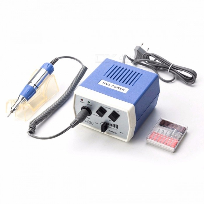 35W EN400 Pro Electric Nail Art Equipment Nail Drill Machine Manicure Pedicure Files Electric Manicu