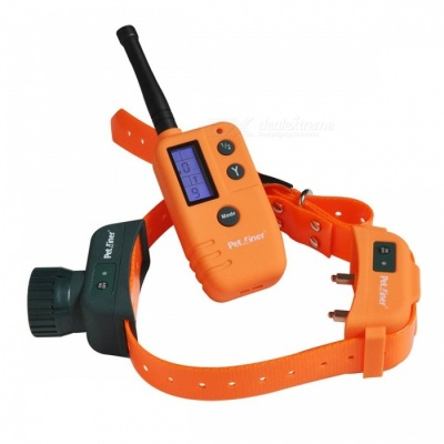 Petrainer 910 500m Remote Dog Training Collar with Beeper for Hunting, Dog Barking Shock Collar with Remote EU