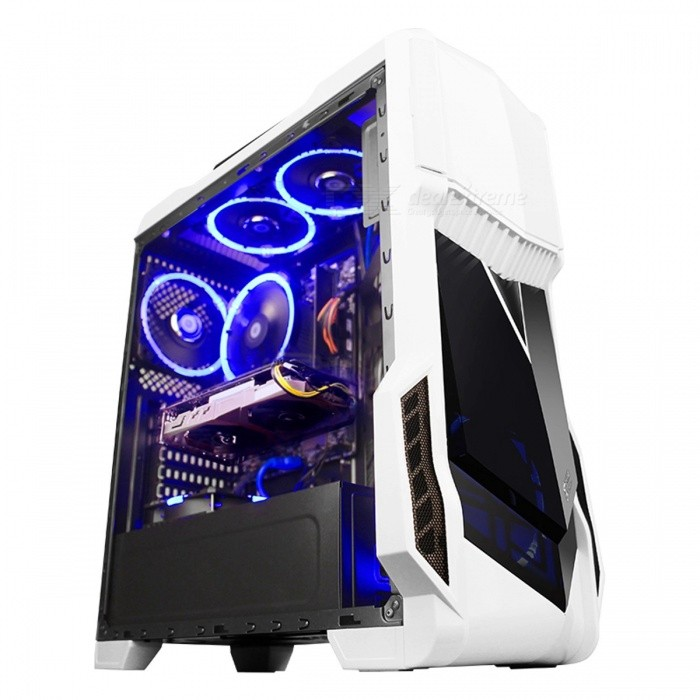 GETWORTH R5 Gaming PC Intel I5 7500 1050Ti 128GB SSD 1TB HDD Gaming Desktop, Gigabyte B250M Motherboard 8GB RAM Computer Case Win10 Home ChineseDescription<br><br><br><br><br>Hard Drive Brand: Intel<br><br><br>Hard Drive Capacity: 1TB<br><br><br><br><br>Processor Series: Intel Core i5<br><br><br>Memory Maximum Support: 8GB<br><br><br><br><br>Power: 300W<br><br><br>Power Supplies Brand: Huntkey<br><br><br><br><br>Memory Capacity: 8GB<br><br><br>Package: Yes<br><br><br><br><br>Motherboard Brand: Gigabyte<br><br><br>Memory Frequency: 2400Mhz<br><br><br><br><br>Optical Drives Type: None<br><br><br>Memory Type: DDR4<br><br><br><br><br>Video Memory Interface: 128bit<br><br><br>Cooling Type: Fan<br><br><br><br><br>Mouse &amp;amp; Keyboard: No<br><br><br>Hard Drive Type: Solid State Disks(SSD)<br><br><br><br><br>Computer Case Brand: segotep<br><br><br>Computer Case Form Factor: Micro ATX<br><br><br><br><br>Computer Case Type: Mid Tower<br><br><br>Video Memory Capacity: 4GB<br><br><br><br><br>Graphics Card Brand: Colorful<br><br><br>Motherboard Form Factor: M-ATX<br><br><br><br><br>Display Size: None<br><br><br>Headphone: No<br><br><br><br><br>Graphics Card Type: Non-Integrated<br><br><br>Processor Core: Quad Core<br><br><br><br><br>Brand Name: NoEnName_Null<br><br><br>Operating System: None<br><br><br><br><br>80 PLUS: Yes<br><br><br>Speaker: No<br><br><br><br><br>Video Memory Type: GDDR5<br><br><br>Graphics Card Chipset: Other<br><br><br><br><br>Chipset: Other<br><br><br>Socket Type: Other<br><br><br><br><br><br><br><br><br><br><br><br>Gross weight: 11kg<br><br><br>Package size: 57.7*27.5*25.5cm<br><br><br>Configuration:<br><br><br>CPU: I5 7500<br><br><br>Graphics Card: COLORFUL GTX1050Ti GAMING V3<br><br><br>Motherboard: Gigabyte B250M-Wind<br><br><br>Hard Disk: Intel 600P 128G SSD(M.2 interface)+Seagate 1TB HDD<br><br><br>Computer Case: Segotep Gank White version<br><br><br>Power Supply: Segotep Nuclear Power Cruiser C5( 300w, 170-264V)<br><br><br>CPU Cooler: DEEPCOOL Arc