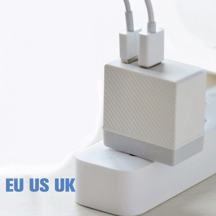 HOCO Universal 5V 2.4A Dual USB Charger Wall Charger EU US UK Plug Portable Charging Adapter for IPHONE Samsung Xiaomi EU PlugAC Chargers<br>Description<br><br><br><br><br>Compatible Brand: SONY,LG,Meizu,Blackberry,Nokia,HTC,Lenovo,Samsung,Motorola,ZTE,Universal,xiaomi,Huawei,Apple,Other<br><br><br>Type: Travel<br><br><br><br><br>Brand Name: HOCO<br><br><br>Output Interface: USB<br><br><br><br><br>USB Ports: 2<br><br><br>Quality Certification: FCC,CE,RoHS<br><br><br><br><br>Power Source: A.C. Source<br><br><br>Output: 5V/2.4A<br><br><br><br><br>Support Quick Charge Technology: No<br><br><br><br><br><br><br><br><br><br><br><br><br>1. Material: Flame retardant PC material; <br><br><br>2. Size: 45*45*27mm; <br><br><br>3. Weight: 45g; <br><br><br>4. Output: Dual output: 5V/2.4A, intelligent balanced shunting; <br><br><br>5. Overcurrent and overvoltage protections for the circuit; <br><br><br>6. EU US UK standard plug.&amp;nbsp; Please&amp;nbsp;choose correct standard&amp;nbsp;for you region.<br>