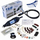 TASP-220V-130W-Electric-Mini-Drill-Engraver-Rotary-Tool-Set-with-Flexible-Shaft-and-140Pcs-Accessories-Power-Tools-EU