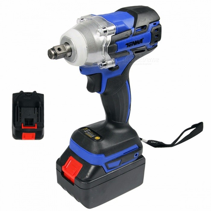 TENWA-Brushless-Electric-Wrench-21V-Cordless-Power-Tool-320Nm-Torque-Rechargeable-Impact-Wrench-w-4500mAh-Lithium-Battery-1-battery-setEU