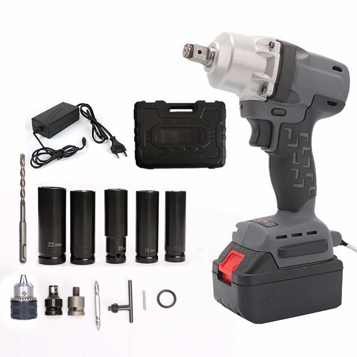 Toolstrong TSL-IW04 Portable Brushless 18V Li-ion Battery Electric Car Impact Wrench, Scaffolding Power Tool  one battery/EUDescription<br><br><br><br><br>Max. Torque: 280N.m<br><br><br>Brand Name: TOOLSTRONG<br><br><br><br><br>Power Source: Electricity<br><br><br>Type: Rechargeable Electric Wrench<br><br><br><br><br>is_customized: Yes<br><br><br>DIY Supplies: Metalworking<br><br><br><br><br>Power Source: Battery<br><br><br>No-Load Speed: 2800rpm<br><br><br><br><br>Rated Voltage: 18V<br>