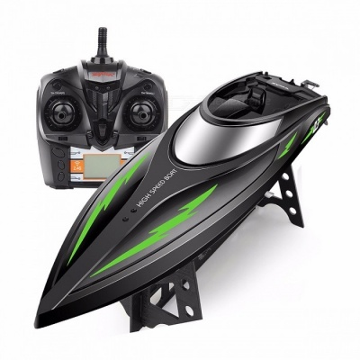 SYMA Q3 2.4GHZ High Speed RC Boat with 180 Degre Flip, Double Waterproof RC Speedboat Ship Simulation Speed Craft Toy for Kid Black(Q3)