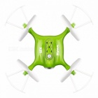 Syma X21 Mini 2.4G 4CH RC Drone Quadcopter Helicopter with Headless Mode, Hover, Fixed Height, without Camera  X21 Green