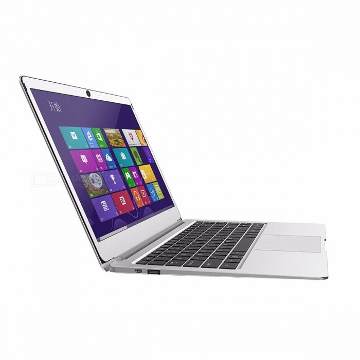 Jumper EZbook 3 Plus 14'' Windows 10 Laptop Intel Core M 7Y30 Wi-Fi 8GB DDR3L 128G SSD Metal Case 1080P FHD Ultrabook Silver