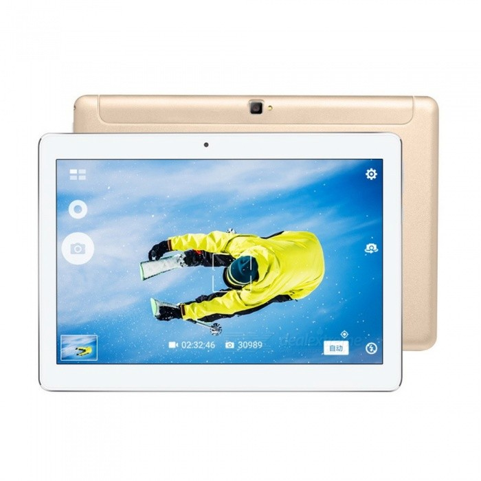 Voyo Q101 10.1 1920*1200 Big Screen Tablet PC with Android 5.1 Lolipop, 3G / 4G Phone Call, MT6753 Octa-Core Gold/3GBram 64GB romAndroid Tablets<br>Description<br><br><br><br><br>Item Type: Tablet PC<br><br><br>Google Play: Yes<br><br><br><br><br>Feature: Dual Cameras,Ultra Slim<br><br><br>Supporting Language: Portuguese,Greek,Swedish,English,Spanish,Japanese,Polish,Italian,Chinese,Turkish,Hebrew,Russian,German,French,Ukrainian<br><br><br><br><br>Second Webcam Pixels: 5MP<br><br><br>Extend Port: Earphone Jack,Micro USB<br><br><br><br><br>Processor Core: Octa Core<br><br><br>Camera: Second Webcam<br><br><br><br><br>Memory Capacity: 2GB<br><br><br>Package: Yes<br><br><br><br><br>Touch Screen Type: Capacitive Screen<br><br><br>Network Communiction: 4G LTE<br><br><br><br><br>Brand Name: Voyo<br><br><br>Display resolution: 1920x1200<br><br><br><br><br>Item Condition: New<br><br><br>Processor Manufacture: MTK<br><br><br><br><br>Operating System: Android 6.0<br><br><br>Screen Size: 10.1<br><br><br><br><br>Tablet Data Capacity: 32GB<br><br><br>Voyo Model: Other<br><br><br><br><br><br><br><br><br>Network Communiction: Bluetooth, Wifi <br><br><br>Feature: GPS, G Sensor, Multi Touch, Phone Call<br>