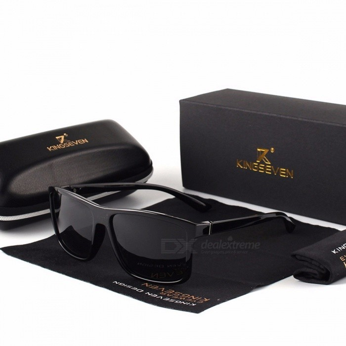 KINGSEVEN Vintage Style UV400 Protection Mens Sunglasses, Classic Male Square Glasses, Driving Travel Eyewear BrightBlack BlueSunglasses<br>Description<br><br><br><br><br>Eyewear Type: Sunglasses<br><br><br>Item Type: Eyewear<br><br><br><br><br>Department Name: Adult<br><br><br>Lenses Optical Attribute: Gradient,Polarized,Anti-Reflective<br><br><br><br><br>Frame Material: Alloy<br><br><br>Lenses Material: Polycarbonate<br><br><br><br><br>Gender: Men<br><br><br>Style: Square<br><br><br><br><br>Brand Name: KINGSEVEN<br>