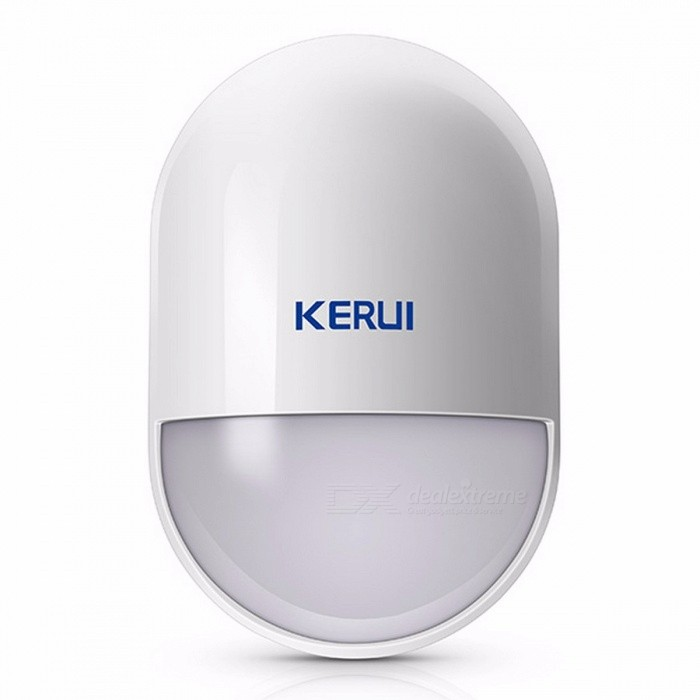 KERUI-P829-Portable-Mini-Wireless-PIR-Motion-Detector-Smart-Home-Alarm-System-Motion-Detector-Sensor-with-Battery-White