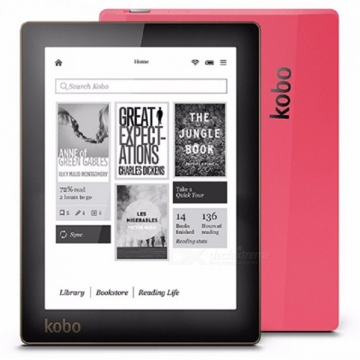 Kobo N514 E-book Reader E-ink 6 Inches 1024x758 Resolution Built-in Front Light eBook Reader WiFi 4GB Memory Only  e-Book Reader