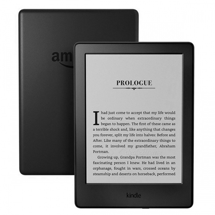 Kindle-8-Generation-2016-Model-6-Inches-Touch-Screen-Ebook-E-ink-Reader-WiFi-Ereader-800-x-600p-Resolution-Only-e-Book-Reader
