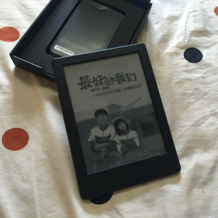 Kindle 8 Generation 2016 Model 6 Inches Touch Screen Ebook E-ink Reader WiFi Ereader 800 x 600p Resolution