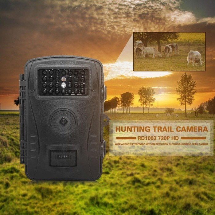 RD1003 Wide Angle 720P Waterproof Motion Detection 940NM Hunting PIR Sensor Control Scouting Infrared Wildlife Trail Camera