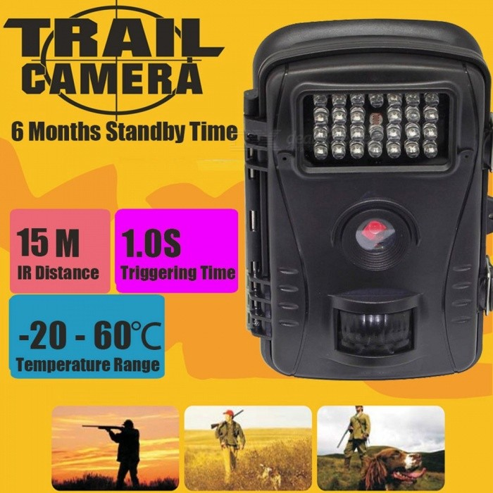 720P Hunting Camera Infrared 940NM HD Wide Angle Waterproof Motion Detection Outdoor Hunting Trail Camera IR Flash