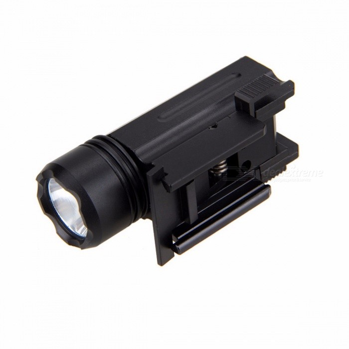 3000LM XPE Q5 LED Weaver Picatinny Mount Gun 3-Mode Tactical Flashlight, Hunting Torch Light for Outdoors
