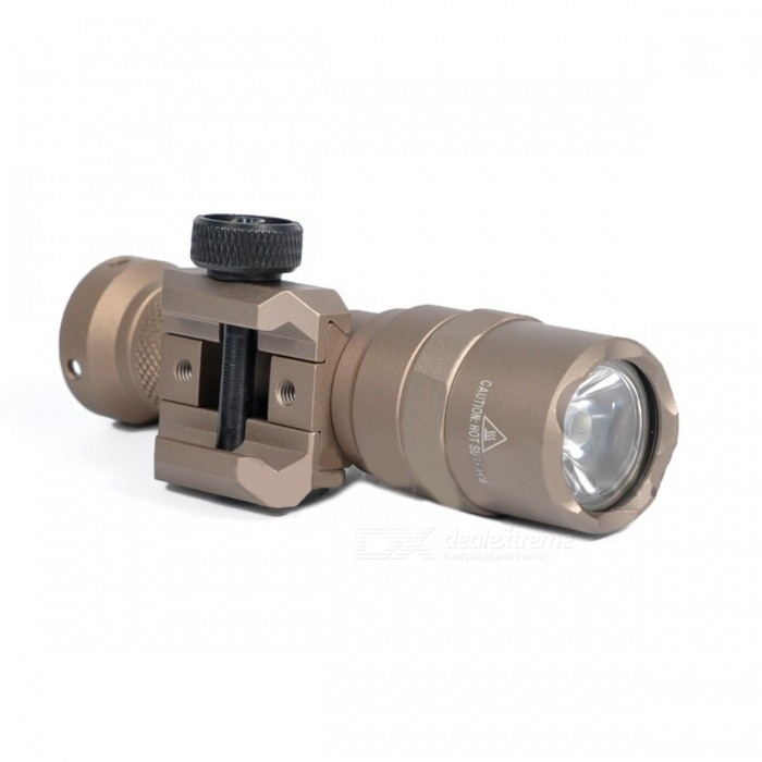 Greenbase Tactical M300 M300B MINI Scout Light Outdoor Rifle Hunting Flashlight 400 Lumen Weapon LED Light