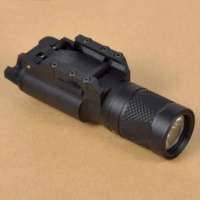 TGPUL Tactical X300V Pistol LED Flashlight Strobe Weapon Light 500 Lumens Handgun Airsoft Hunting Shooting Rail Light
