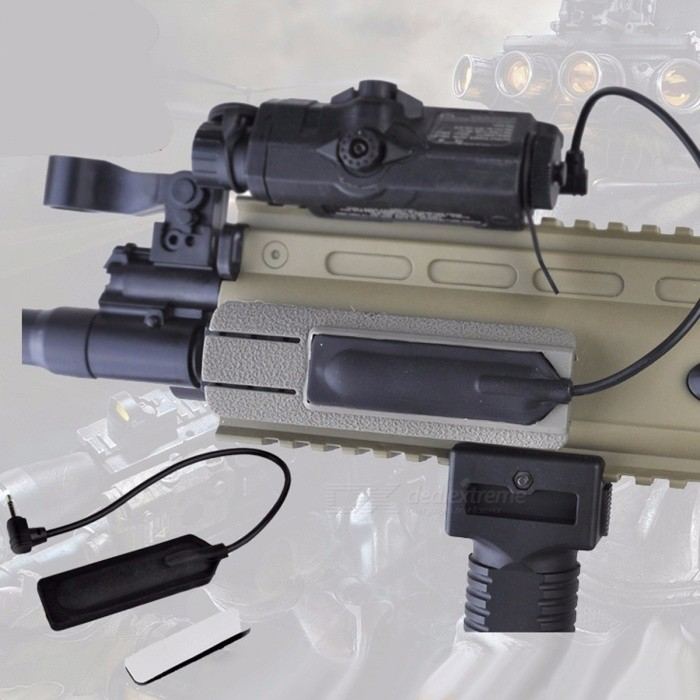 Element-High-Quality-Practical-Airsoft-Tactical-PEQ-Flashlight-Switch-Tail-Control-Switch-For-PEQ-EX430-Brown