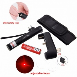 Powerful-5mW-Green-Red-Purple-Lazer-Pen-Light-Military-Adjustable-Focus-Laser-Pointer-with-18650-Battery-Charger