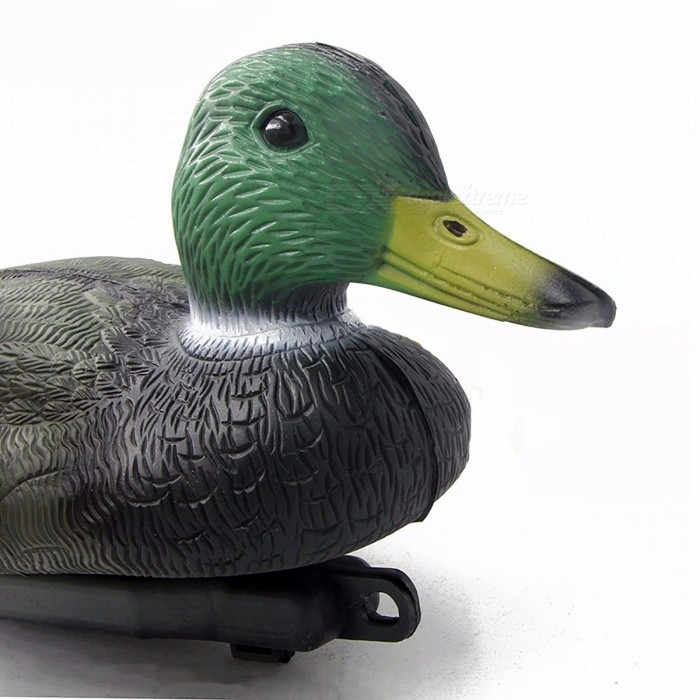 Portable Premium PE Material Lifelike Floating Duck Decoy, Hunting Baits for Outdoor Hunting Shooting