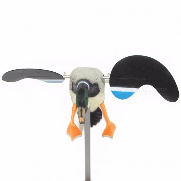 High Quality Hunting Duck Decoy, Electric Flying Motorized Duck Decoy with Remote Control for Outdoor Shooting