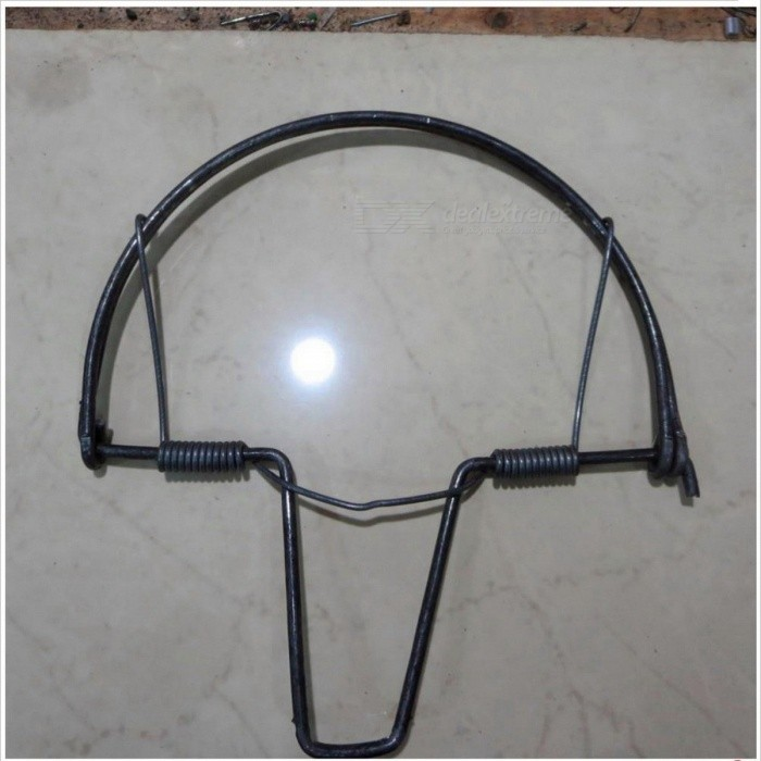 Portable-Strong-Power-Diameter-180mm-Head-Hold-Spring-Leg-Trap-for-Bird-Pigeon-Quail-Pheasant-Hunting-Colorless
