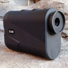 600m Hunting Laser Rangefinder Monocular Telescope, Flagpole Locked Distance Speed Measuring Golf Range Finder black