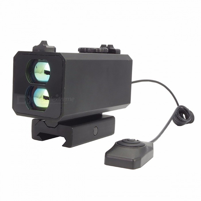 Mini 700m Mechanical Sight for Hunting, Laser Rangefinder Rifle Scope Riflescope Mate with Speed Measure