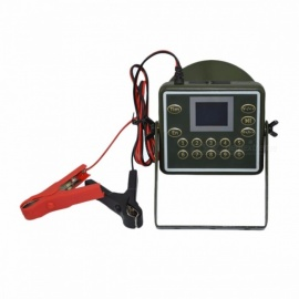 Portable-Small-Outdoor-Waterproof-Desert-Proof-Electronic-Hunting-Decoy-Tool-Bird-Caller-Megaphone-with-LCD-Display-Green