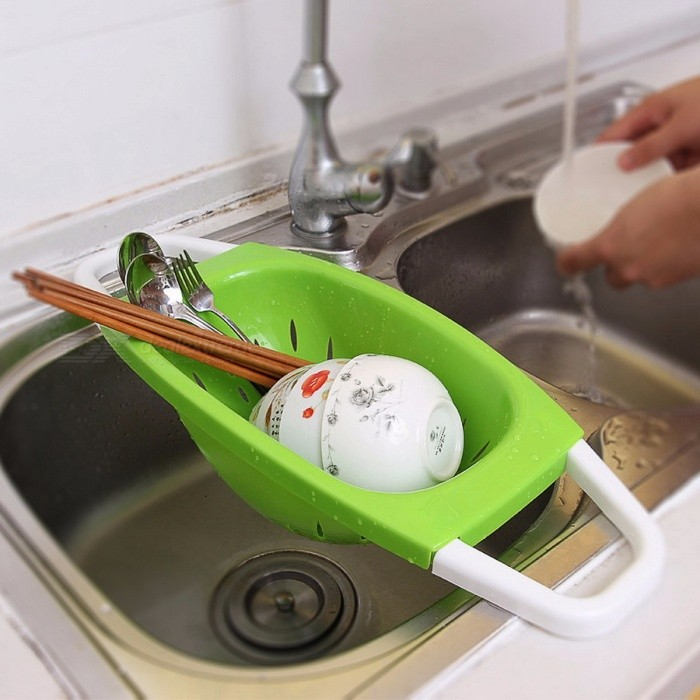 Folding Plastic Storage Wash Holder Basket, Kitchen Shelf Tray Bowl Dripper, Vegetable Fruit Washing Sink Drain Frame Rack  GreenKitchen Gadgets<br>Description<br><br><br><br><br>Brand Name: Butihome<br><br><br>Material: Plastic<br><br><br><br><br>Installation Type: Floor Type<br><br><br>No. of Tiers: Single<br><br><br><br><br>Type: Bathroom Shelves<br><br><br>Classification: Folding Rack<br><br><br><br><br>Use: Food<br><br><br>Feature: Eco-Friendly,Stocked<br><br><br><br><br>Applicable Space: Kitchen<br><br><br>Plastic Type: Other<br>