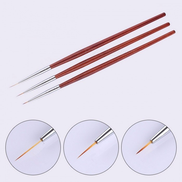 3Pcs-UV-Gel-Polish-Brush-Kit-7mm-9mm-11mm-Painting-Brush-Liner-Wooden-Red-Handle-Nail-Art-Pen-Set-Drawing-Tool-Wooden-Red