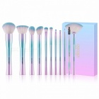 Docolor-11Pcs-Soft-Synthetic-Hair-Makeup-Brushes-Set-Best-Christmas-Gift-Powder-Foundation-Eyeshadow-Make-Up-Brushes-Cosmetic-Green-Pink
