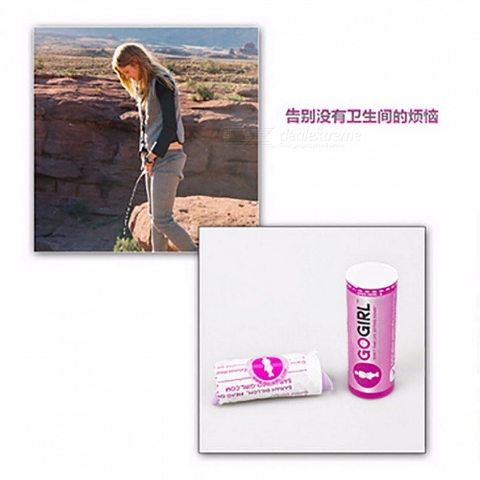 Urinal GoGirl Go Girl Women Urination Device 9.5cm Stand Up Pee Tool Camping Travel Portable Female Tiolet