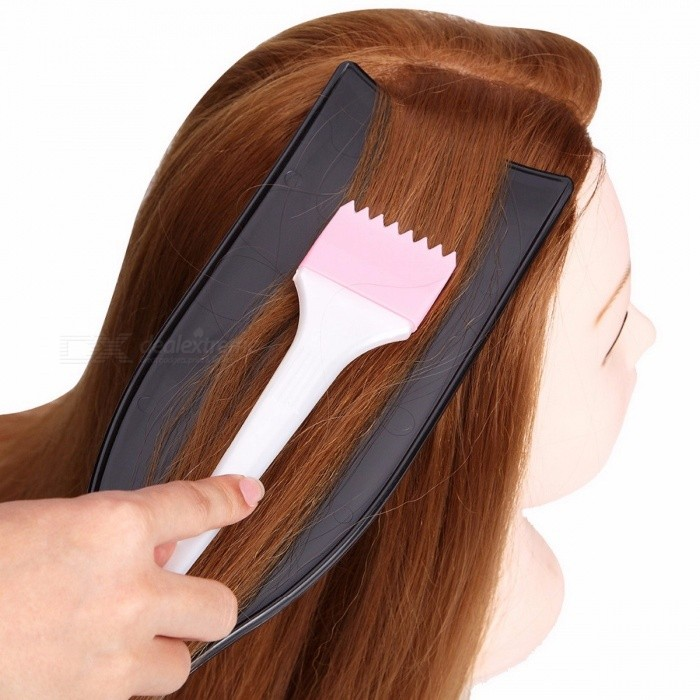 DIY Salon Hairdressing Art Dyeing Board Hair Coloring Tint Long Coating Plate for Barber Design Styling Tool Accessories