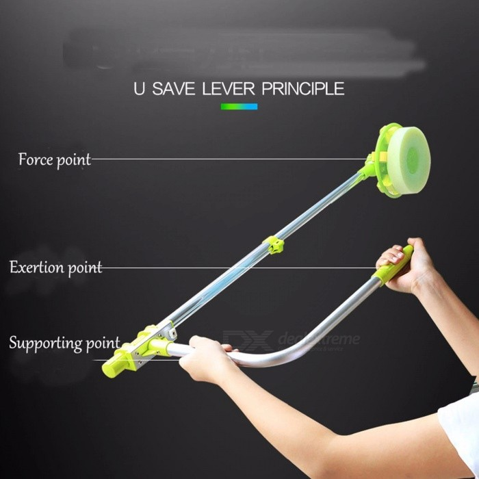 Portable Extendable Telescopic High-rise Window Glass Cleaning Cleaner, Dust Brush for Washing Windows
