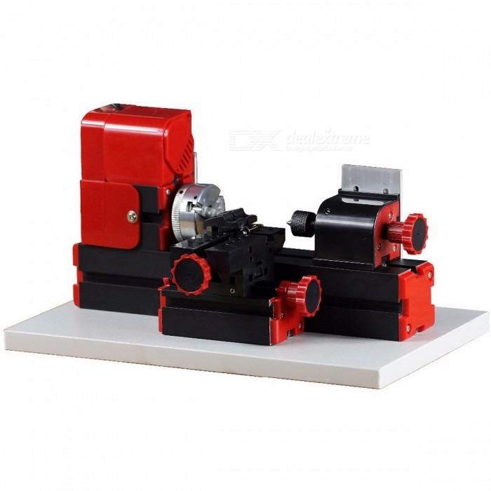 DIY Tool 6-in-1 Mini Lathe, Milling, Drilling, Wood Turning, Jag Saw and Sanding Machine, Mini Combined Machine Tool
